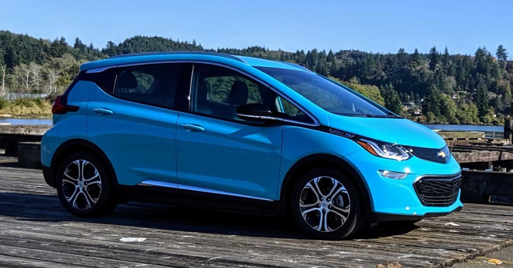 The Chevrolet Bolt EV Drives Right