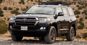 Legendary Driving in the Toyota Land Cruiser